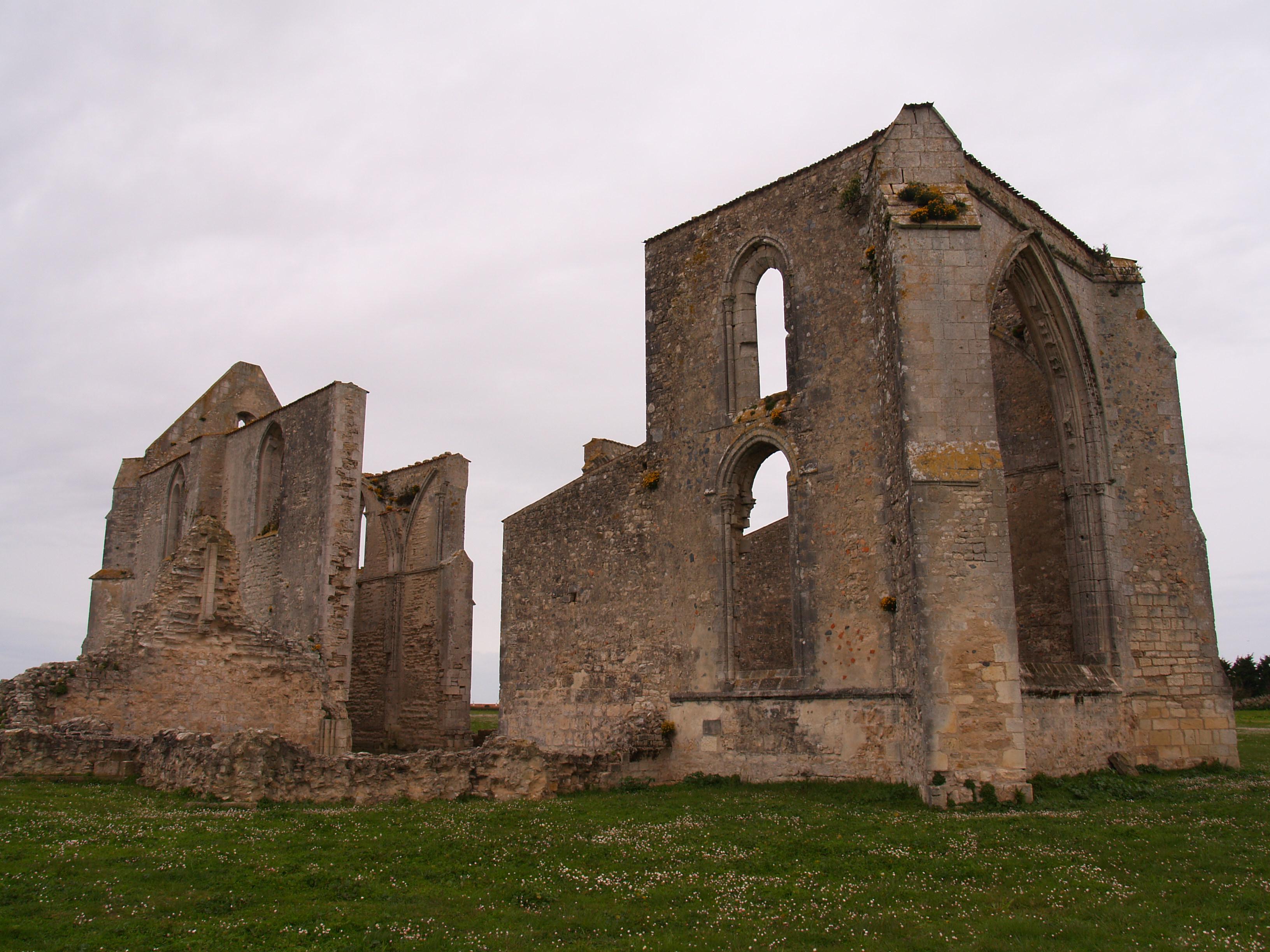 Abadía de los Chateliers en la Isla de Ré